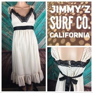 Jimmy'z Surf Co. Of California Polka Dot Dress